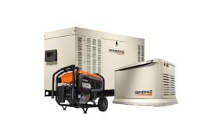 Tan Generac generators for West Bloomfield, MI